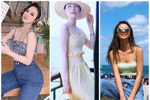 'Đã mắt' ngắm các mỹ nhân Việt đua nhau diện đồ gợi cảm khi đi du lịch