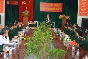 Học viện Quốc phòng tọa đàm về quốc phòng-quân sự với BĐBP Hà Tĩnh