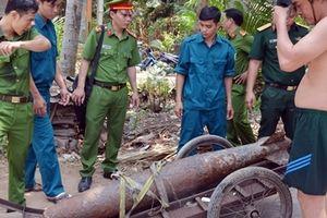 Phát hiện và xử lý quả bom nặng 250kg ở Bến Tre