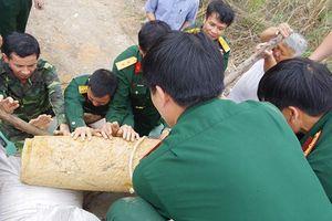 Quảng Ninh: Xử lý bom nặng 250kg còn sót lại từ chiến tranh