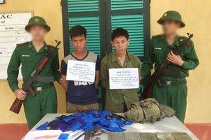 Thanh Hóa: Bắt giữ 2 đối tượng người Lào vận chuyển số ma túy lớn