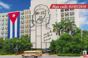 15 suất học bổng đại học toàn phần của Chính phủ Cuba cho học sinh, sinh viên Việt