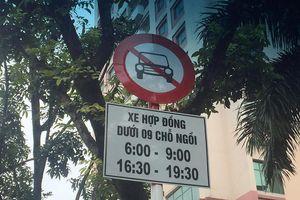 Hà Nội cấm taxi, Grab trên đường Kim Mã, Cát Linh phục vụ thi công