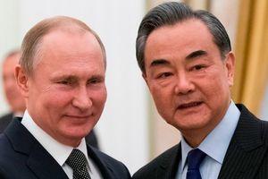 Cùng căng thẳng với Mỹ, Nga - Trung công khai bày tỏ thân thiết