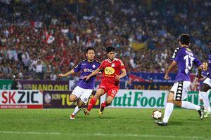 Thống kê buồn về HAGL ở trận thảm bại trước Hà Nội FC
