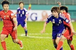 Xem trực tiếp bóng đá nữ châu Á giữa Việt Nam-Nhật Bản
