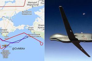 Mỹ công khai dùng UAV do thám Crimea