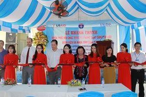 Bệnh viện Đa khoa Bình Phước hỗ trợ người khuyết tật phục hồi chức năng