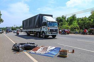 Truy tìm xe container đâm chết người nước ngoài rồi bỏ chạy