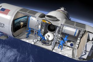 Du lịch ngắm Trái Đất từ không gian với giá 9,5 triệu USD