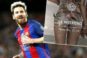 Messi tổ chức tiệc thác loạn toàn nữ lớn nhất thế giới