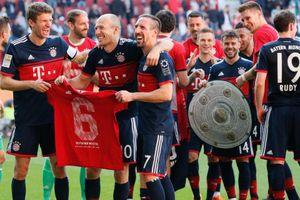 Lần thứ 6 vô địch, Bayern Munich không còn phù hợp ở Bundesliga