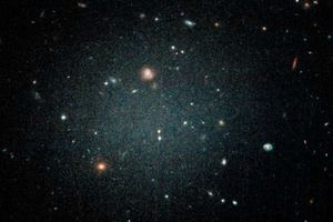 Sửng sốt thiên hà ma quái gần như không có vật chất tối