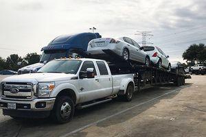 Xe ôtô ngập nước tại Mỹ vẫn được xuất khẩu sang ĐNÁ