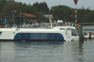 42 người thoát nạn khi tàu cao tốc chìm tại biển Cần Giờ