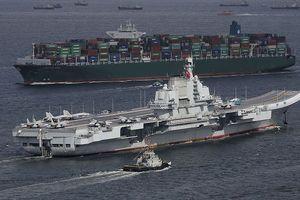 Mỹ tung 3 cụm tàu sân bay 'ứng tiếp' 40 chiến hạm Trung Quốc tập trận ở Biển Đông