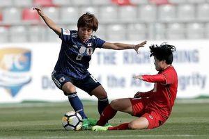 ĐT nữ Việt Nam thua trắng 0-4 trước ĐKVĐ Nhật Bản