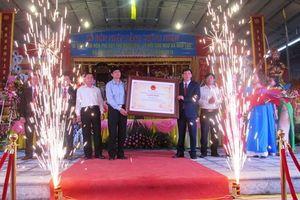 Lễ hội Cầu Ngư được công nhận là di sản văn hóa phi vật thể quốc gia