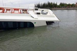 42 hành khách thoát nạn khi tàu cao tốc gặp sự cố trên biển Cần Giờ