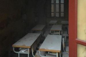 Kịp thời dập tắt vụ hỏa hoạn tại trường tiểu học