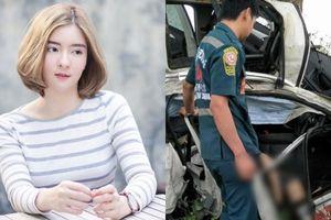 Clip hiện trường vụ tai nạn giao thông khiến nữ diễn viên tử vong