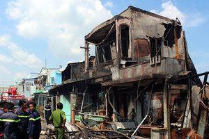 Xác định nguyên nhân gây ra vụ cháy 7 căn nhà ở Tiền Giang