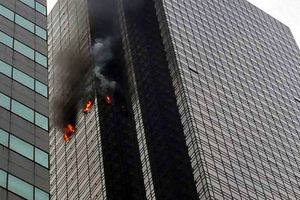 Hỏa hoạn ở Tòa tháp Trump