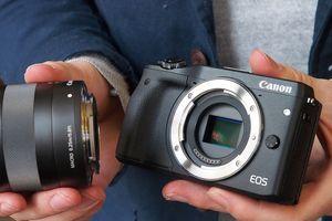 Máy ảnh mirrorless full-frame Canon lộ cấu hình