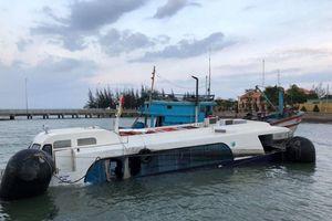 Nguyên nhân chìm tàu cao tốc trên vùng biển Cần Giờ: Do va chạm với vật thể lạ?