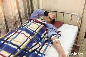 Bố bệnh nhi đánh bác sĩ và cán bộ y tế trọng thương, chảy máu mắt
