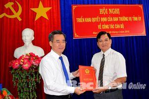 Nhân sự mới tại hai tỉnh Quảng Ninh và Bạc Liêu