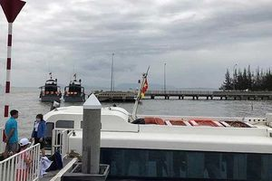 Tàu cao tốc gặp sự cố ở Cần Giờ, 42 người thoát nạn