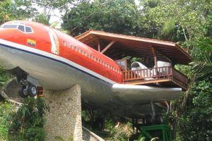 Khách sạn sang chảnh bên trong chiếc máy bay hỏng