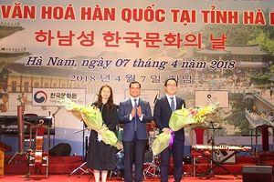 Giao lưu nghệ thuật nhân Ngày Văn hóa Hàn Quốc tại Hà Nam