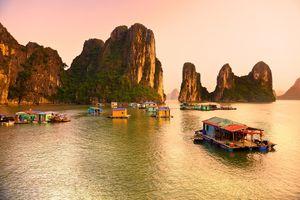 Làng chài Cửa Vạn vào danh sách những ngôi làng đẹp nhất thế giới