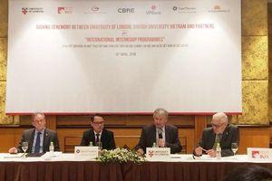 Chương trình thực tập sinh của ĐH hàng đầu Vương quốc Anh tại Việt Nam
