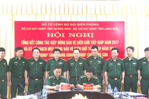 BĐBP Quảng Ninh, Lạng Sơn tăng cường phối hợp bảo vệ biên giới tiếp giáp