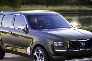 Cận mặt KIA Telluride - SUV đầu bảng thực thụ của người Hàn