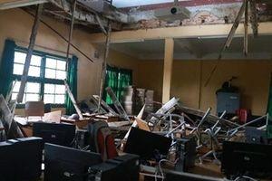 Hiệu trưởng trường có phòng học bị sập xuống làm giáo viên