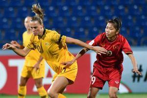 Tuyển nữ Việt Nam thua đậm trận thứ 2 VCK Asian Cup nữ 2018