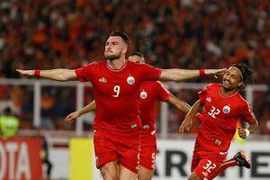 Persija thắng đậm Johor DT, SLNA vào thế khó tại AFC Cup