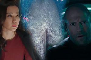 Jason Statham ra biển tiêu diệt cá mập khổng lồ Megalodon cùng Lý Băng Băng trong trailer 'The Meg'