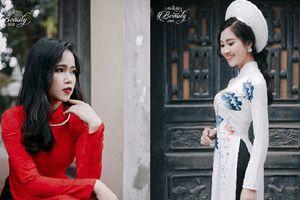 'Lác mắt' ngắm đường cong 'cực chuẩn' trong trang phục áo dài của 10 thí sinh Hoa khôi Học viện Báo chí & tuyên truyền