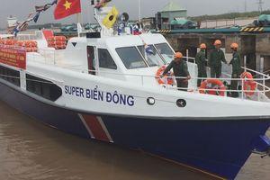 Hạ thủy tàu khách cao tốc triệu đô chạy tuyến Sa Kỳ - Lý Sơn