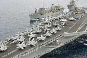 Đội tàu sân bay Mỹ gấp rút đến Trung Đông tấn công Syria?