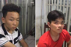 Trinh sát tóm gọn 2 tên cướp sau hơn 10km truy đuổi