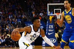 Donovan Mitchell lại lên lên đồng, Warriors tiếp tục ôm hận trước Utah Jazz