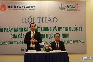 Các trường đại học Việt Nam nên lựa chọn tham gia bảng xếp hạng nào?