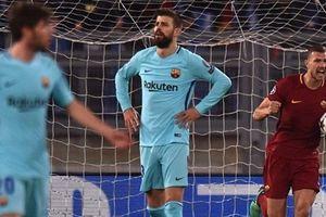 Messi thi đấu dưới sức, Barca cay đắng rời Champion League