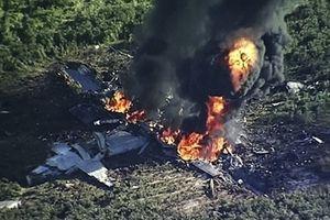 Rơi máy bay quân sự chở 200 người, chưa tìm thấy ai sống sót